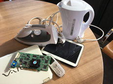 voorbeelden van elektronisch afval (E-waste)