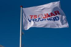 Vlag 75 jaar vrijheid